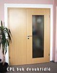 Dveře dvoukřídlé